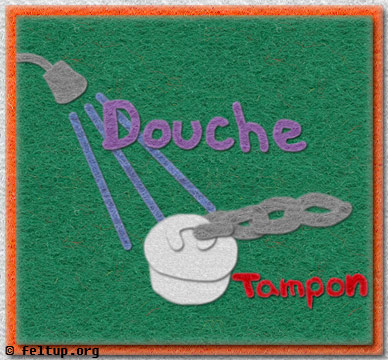 Tampons and Douches (Safe for work!)